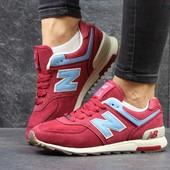 Кроссовки New Balance 574 red/blue
