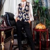 Элегантный женский строгий костюм 208710