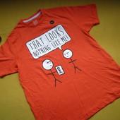Яркая новая красочная футболка унисекс Dunnes Stores,р.L