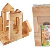 Конструктор деревянный Городок 006