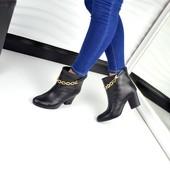 Демисезонные ботиночки с цепями,