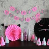 Декор на День Народження. Cat party.