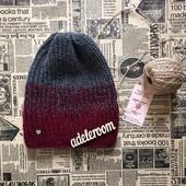 Эксклюзивная Зимняя шапка с градиентом! Ручная работа!