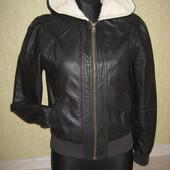 Шикарная курточка эко кожа на девочку подростка 12-16 лет generration