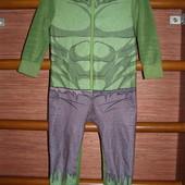 Пижама флисовая, мальчику на 3-4 года, рост до 104 см