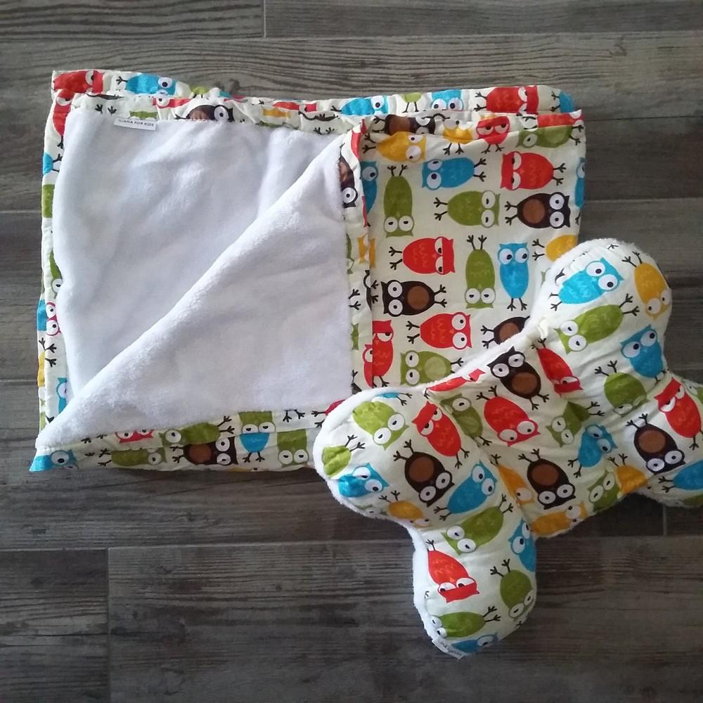 комплект детское одеяло и подушка фото №1
