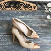 Замшевые туфли-лодочки Mango p-p 37