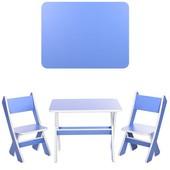 Столик со стульчиками Bambi Голубой (М 2101-02)