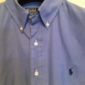 рубашка шикарная Polo by Ralph Lauren на крупного мужчину р.60