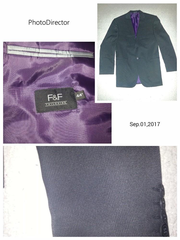 F&f, пиджак, состояние идеальное, р.44 фото №1