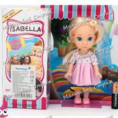 Кукла Изабелла, 16 см, руки ноги двигаются, густые волосы