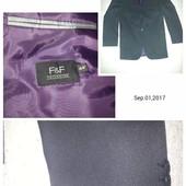 F&F, пиджак, состояние идеальное, р.44