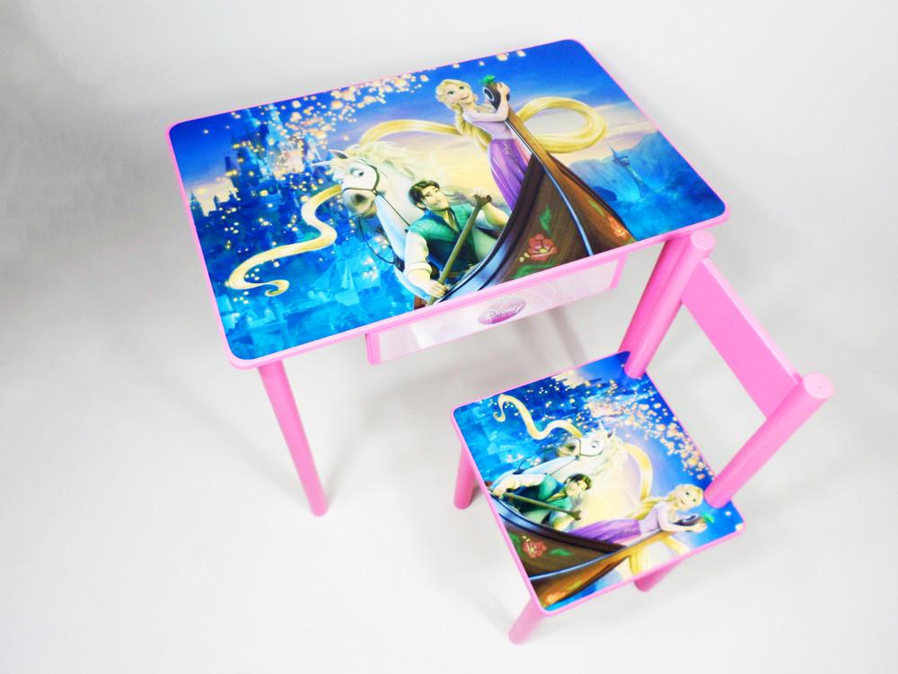 Детский столик и стульчик от1 до 6 лет вспыш и чудо машинки (много вариантов) фото №1