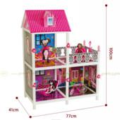 Кукольный домик Монстр Хай Monster High 66901 3 комнаты + балкон, 100 см