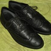 Туфли броги оксфорды  Pier One 44-45 р-р 29 см стелька, в отличном состоянии. полностью кожа, очень