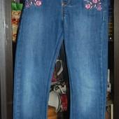 Зауженные джинсы F&F 5-6 лет резинка