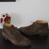 43 28см Geox Натур.замша фирменные мужские ботинки