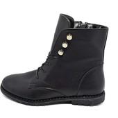 Ботинки женские кожа Asti Rosa Stael 116 Black