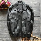Натуральная кожаная мужская куртка р-р Л