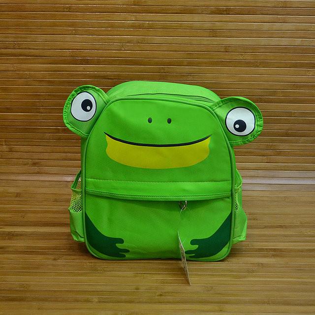 Рюкзак детский лягушка фото №1