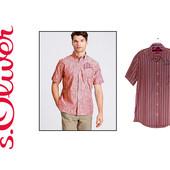 S. Oliver. Царица подиумов - полоска. Рубашка с карманом с логотипами.