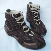 """Ботинки кожаные р.37-38 осень-зима """"Fun&Co"""" Германия женские демисезон"""