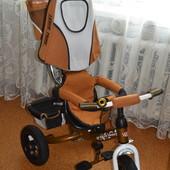 Триколісний велосипед lexus trike. Надувні колеса