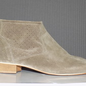 Кожаные фирменные стильные ботинки Roberto Santi 40 р - Новые