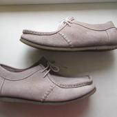 Замшевые туфли Clarks 44 р