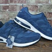Продам  мужские замшевые кроссовки Bona,Бона