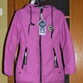 Куртки деми девочке подростковая, еврозима