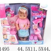Кукла с набором аксессуаров, фен на батарейках, в коробке 44,5*11,5*44,0см