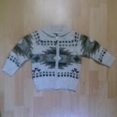 Фирменный свитер кофта кардиган 2-3 года
