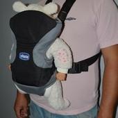 Фирменная многофункциональная переноска - кенгуру Chicco Go Чикко