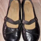 Туфли Clarks р.38 стелька 24,5 см.