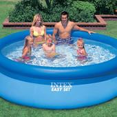 Надувной Семейный басейн бассейн Easy Set Intex 28120  рр 305х76 см