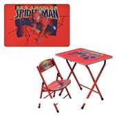 Детская парта–столик DT 19-1 Spider-Man со стульчиком
