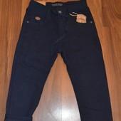 Утепленные коттоновые брюки для школы, 122-164 р. Венгрия