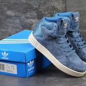 Кроссовки Adidas Tubular Invader light blue 36р