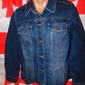 Фирменний стильний джинсовий пиджак курточка  бренд Denim (Дэним).л-хл .