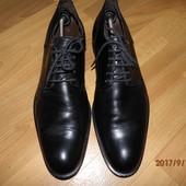 (i98)фирменные кожаные туфли 44 р Lloyd