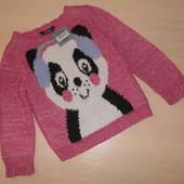 Теплая кофта, свитер George 2-3 года 92-98 см, оригинал