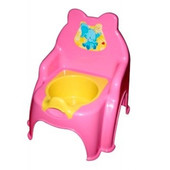 Горшок детский №2 розовый, арт. 013317-1