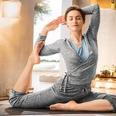 Функциональный женский кардиган для йоги р.М Crane Германия