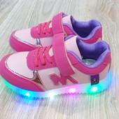Светящиеся кроссовки Y-top.