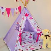 """Вигвам детский. Домик, палатка """"Принцесса"""""""