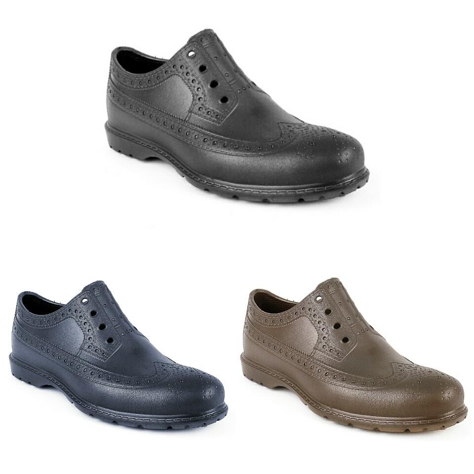 Непромокаемые туфли-оксфорды из эва, р. 40-45 фото №1
