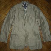Мужской пиджак Giorgio Armani, Made in Italy, лён+бамбук, разм. 48, 50