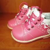 Кожаные демисезонные ботинки Clibee