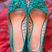 Балетки туфли туфлі босоножки кожаные